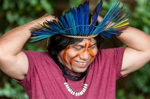 Escritor indígena Daniel Munduruku participa da Bienal do Livro do Ceará
