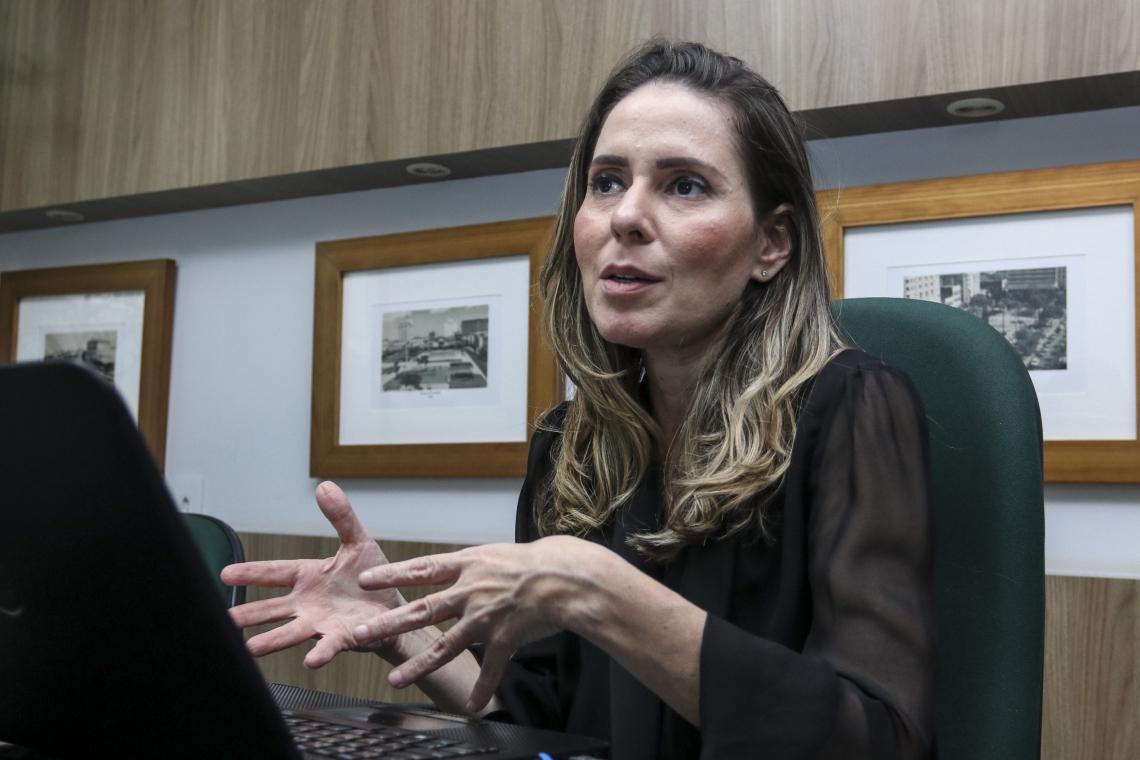 Águeda Muniz, secretária de Urbanismo e Meio Ambiente