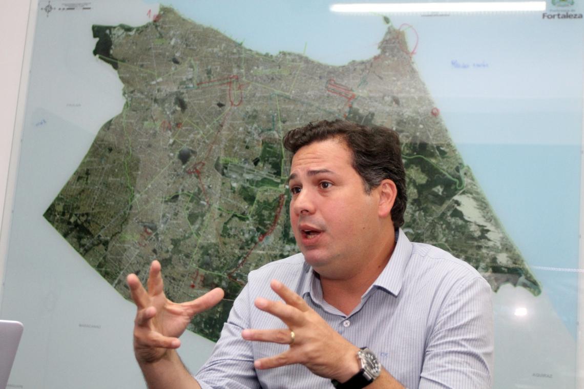 Samuel Dias, secretário do Governo de Fortaleza