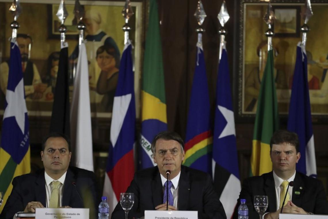 ESTA é a segunda vez que Bolsonaro vem ao Nordeste desde que assumiu. A primeira ocorreu em maio, no Recife