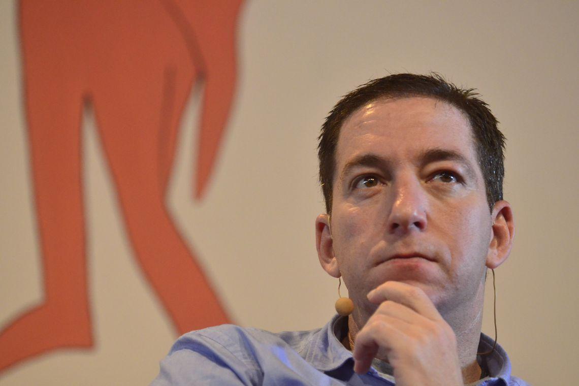 Jornalista estadunidense Glenn Greenwald estava à frente do Intercept na época das primeiras publicações da Vaza Jato