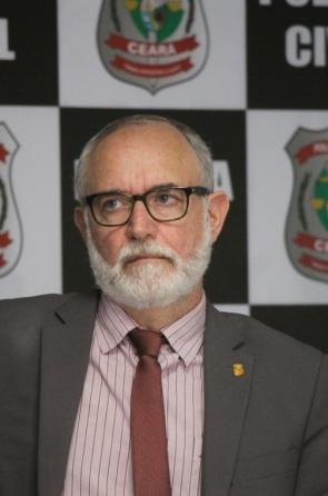 Marcus Rattacaso, delegado geral da Policia Civil. Segundo ele, não há uma rota preferencialmente escolhida pelos criminosos para fugir