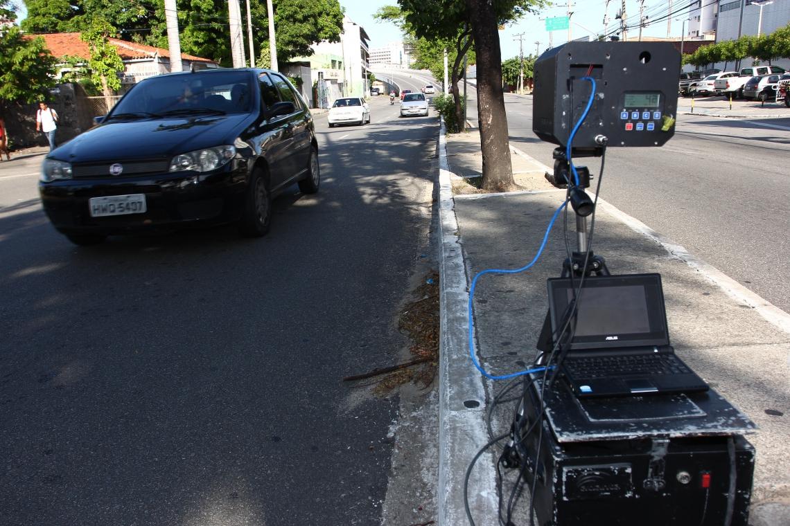 Radar móvel: Ceará conta com seis equipamentos em rodovias federais