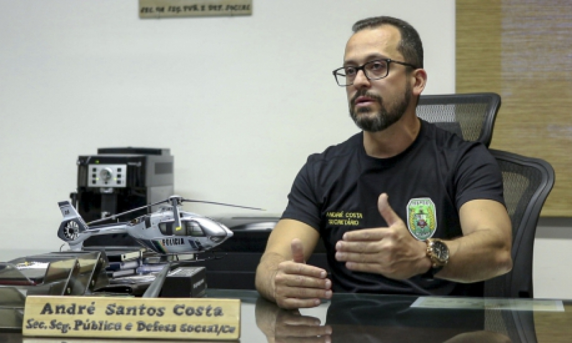André Costa assumiu pasta da segurança em janeiro de 2017