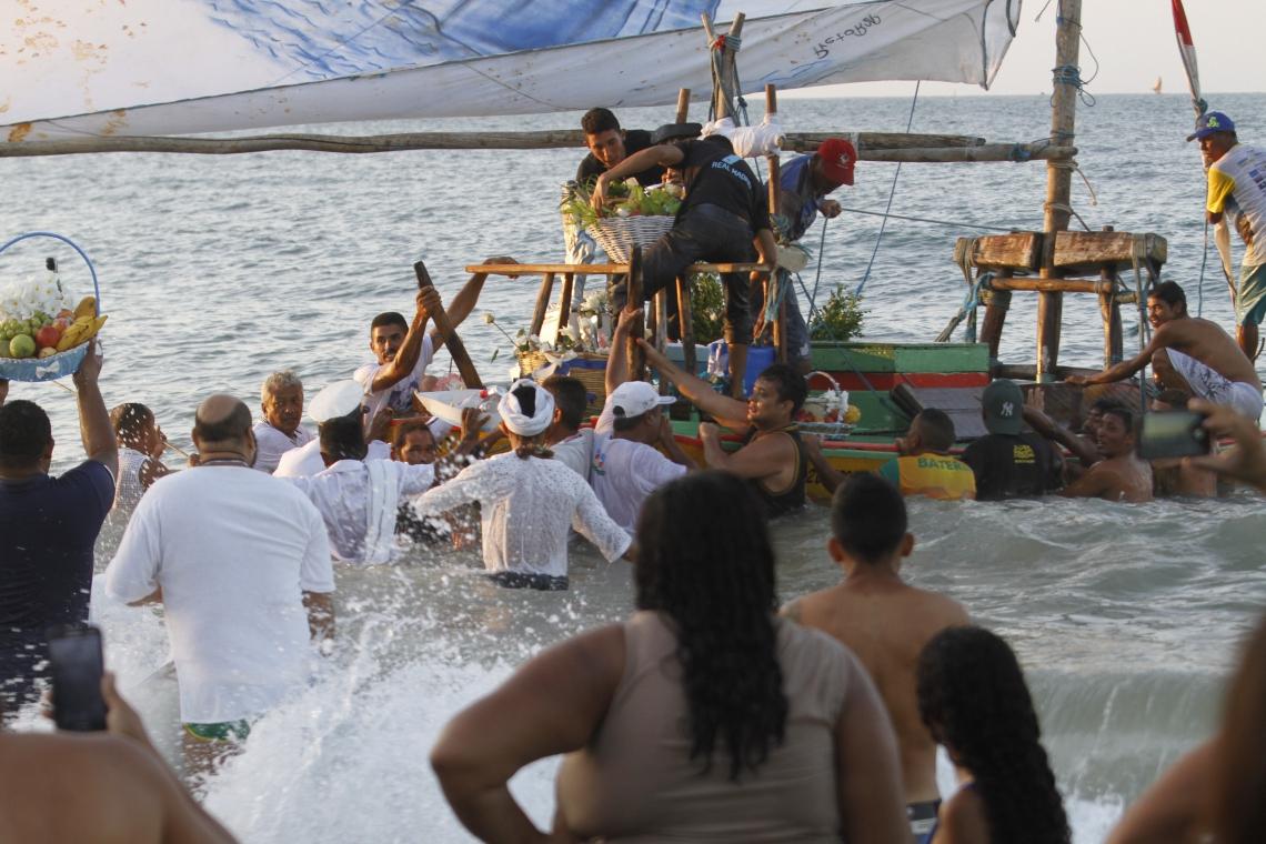 A Festa de Iemanjá é celebrada em Fortaleza desde 1950. Em 2017, o festejo foi registrado como patrimônio imaterial do Município