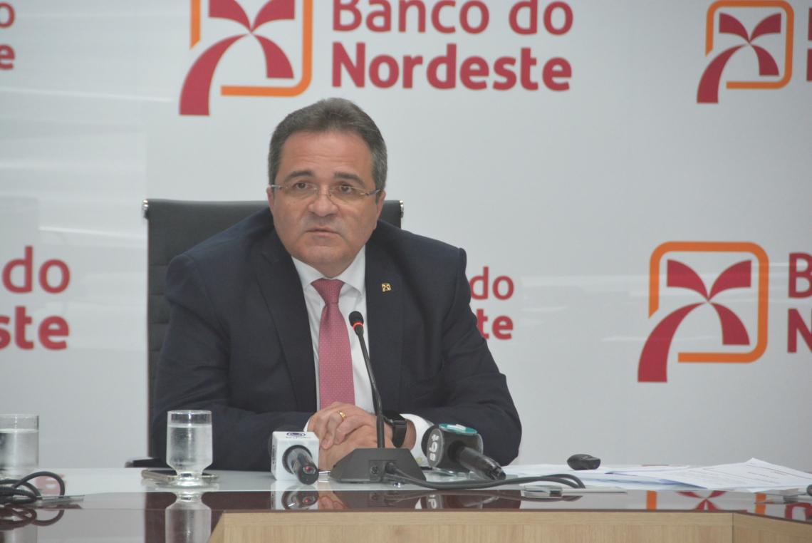ROMILDO Rolim, presidente do BNB, anuncia resultados do banco para o primeiro semestre