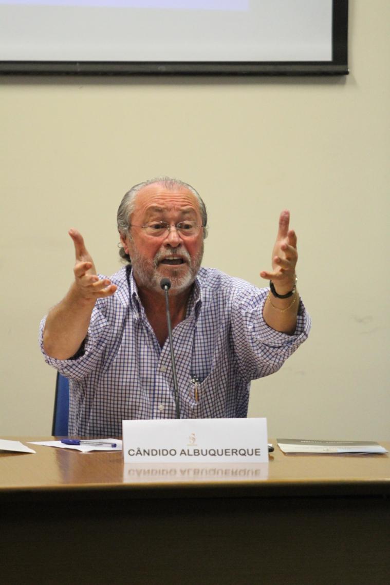 CÂNDIDO Albuquerque deu sua primeira entrevista depois de anunciado como reitor à rádio O POVO CBN
