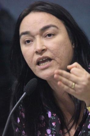 Dra Silvana, deputada (PR) sem limite para os insultos