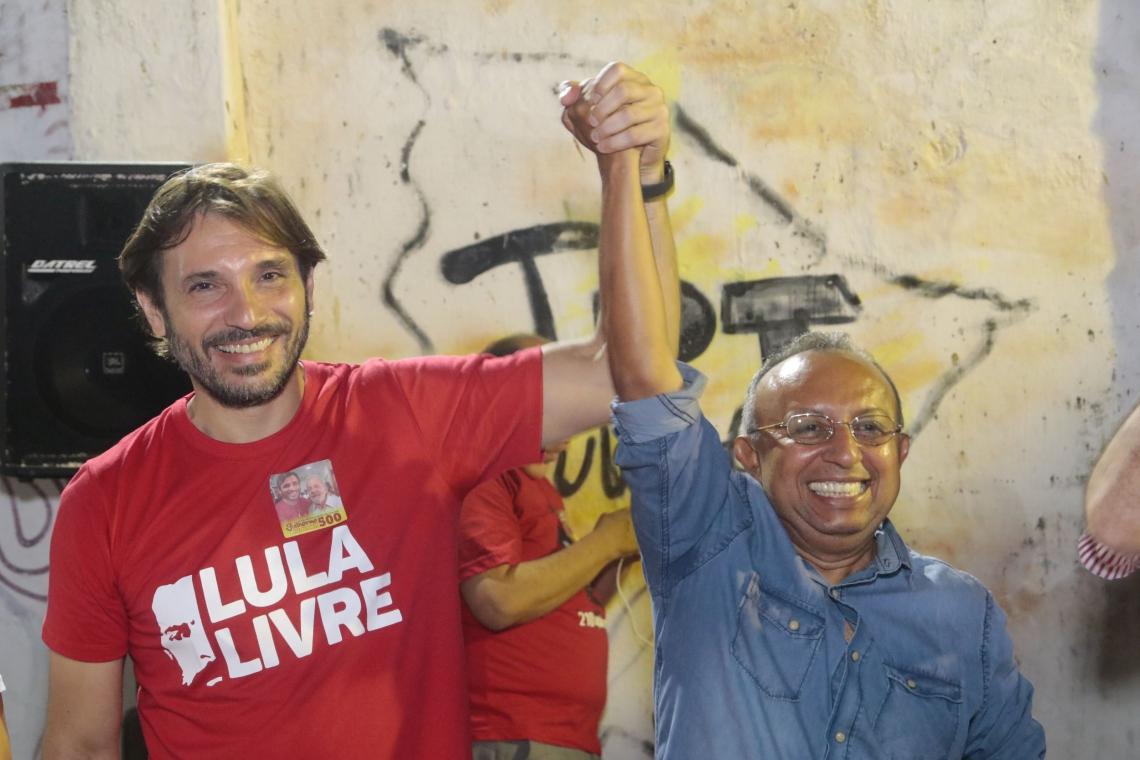 GUILHERME e Raimundinho lideraram o primeiro turno do processo eleitoral do PT na Capital