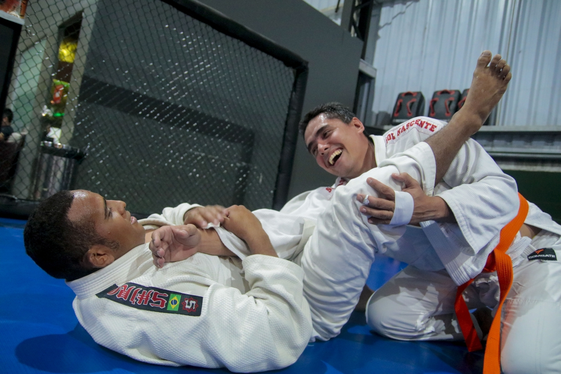 Inclusão social: Luiz Geovane, judoca cego