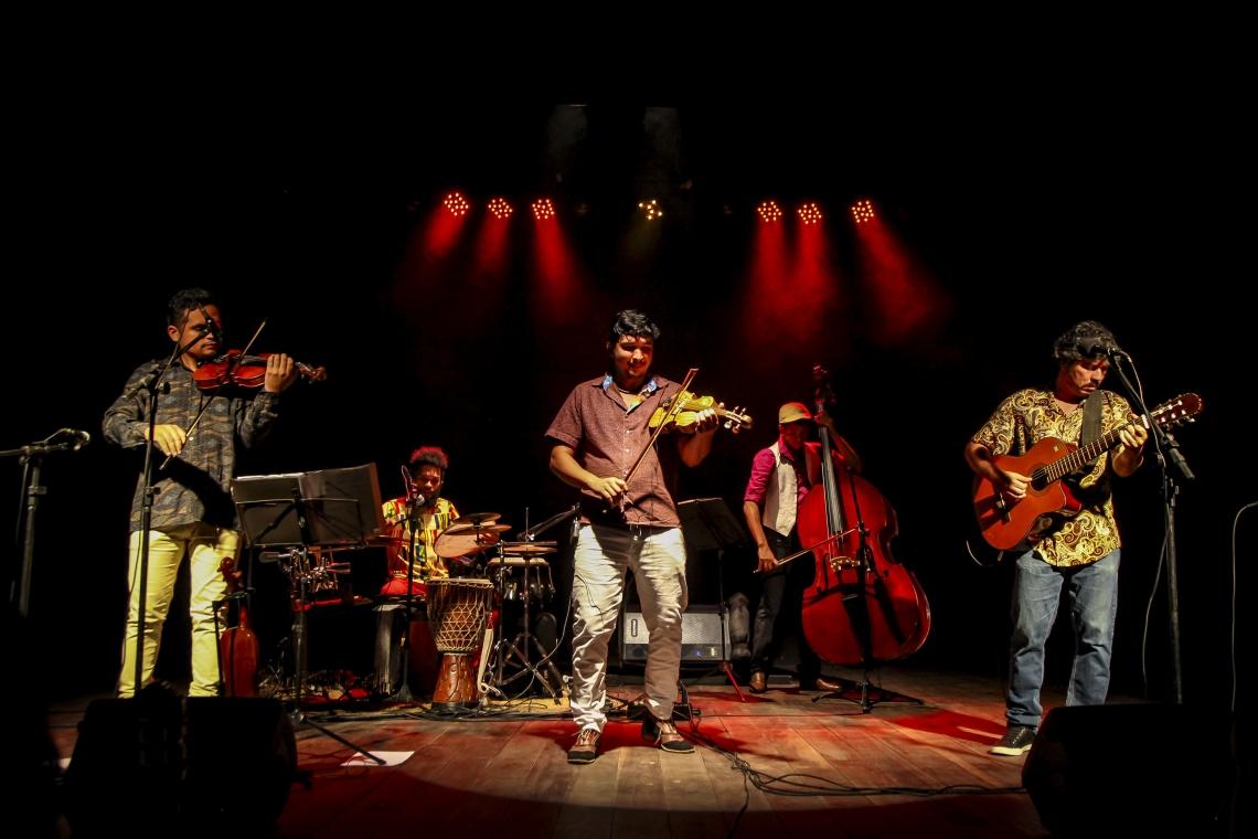 O grupo de música instrumental Rabecacello foi um dos projetos apoiados pelo edital em edições anteriores