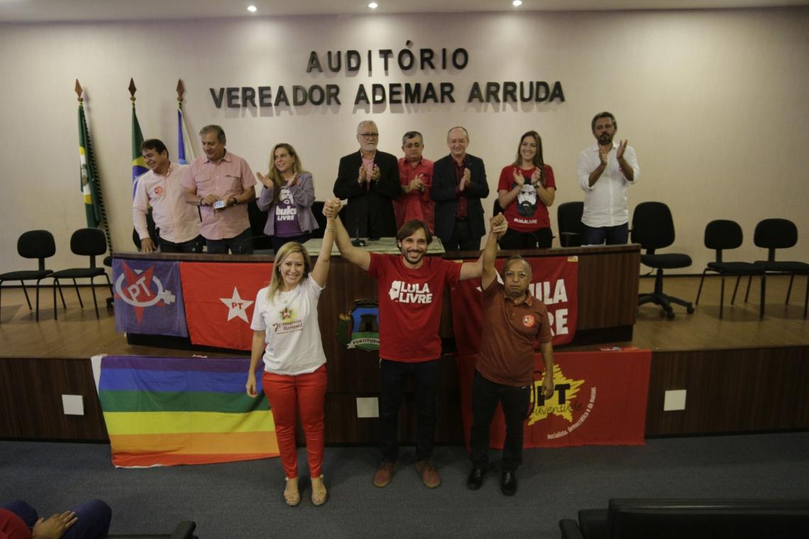 OFICIALIZAÇÃO da vitória de Guilherme ocorreu ontem na Câmara Municipal