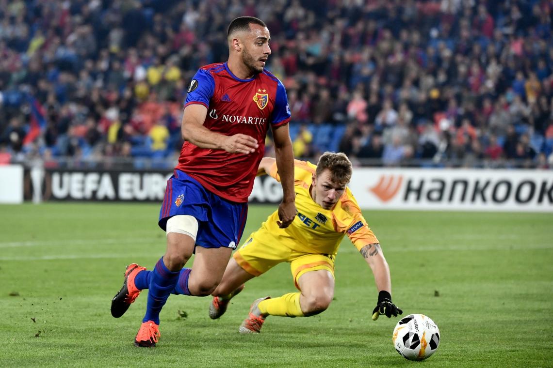 Arthur, ex-Ceará, fez boa partida na Liga Europa
