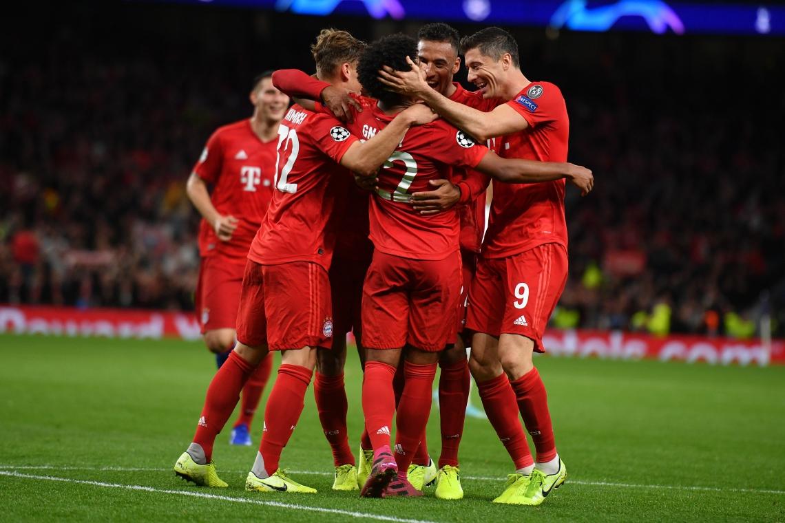 Bayern atropelou o Tottenham