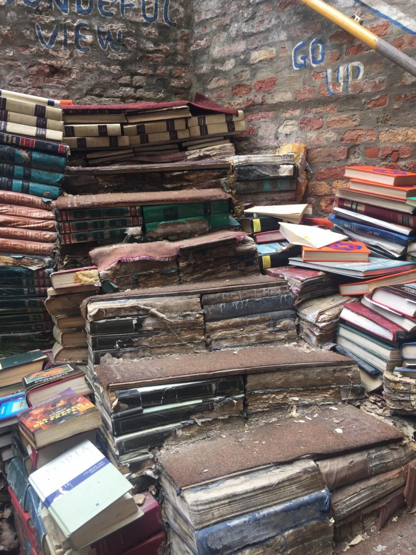 Libreria Acqua Alta é um dos pontos certos para quem visita Veneza pela primeira vez