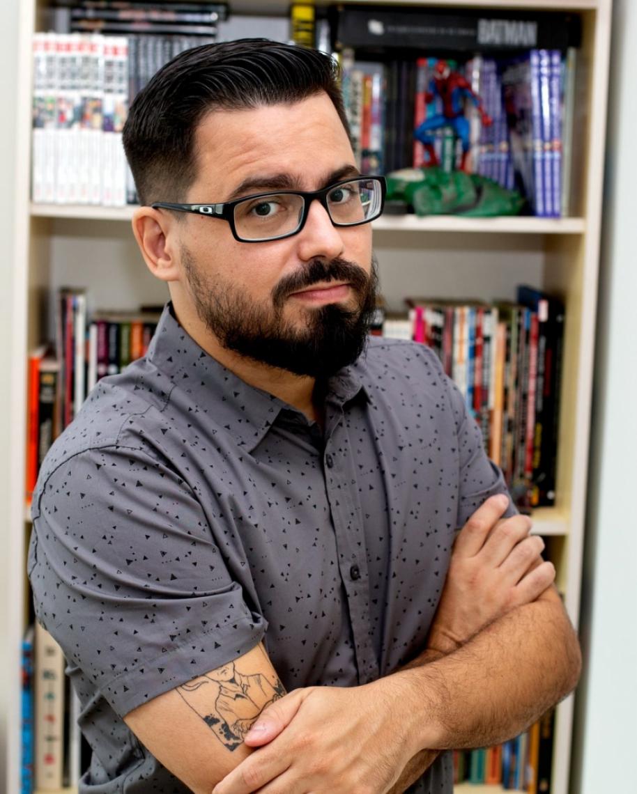 Zé Wellington, quadrinista cearense e autor de Cangaço Overdrive