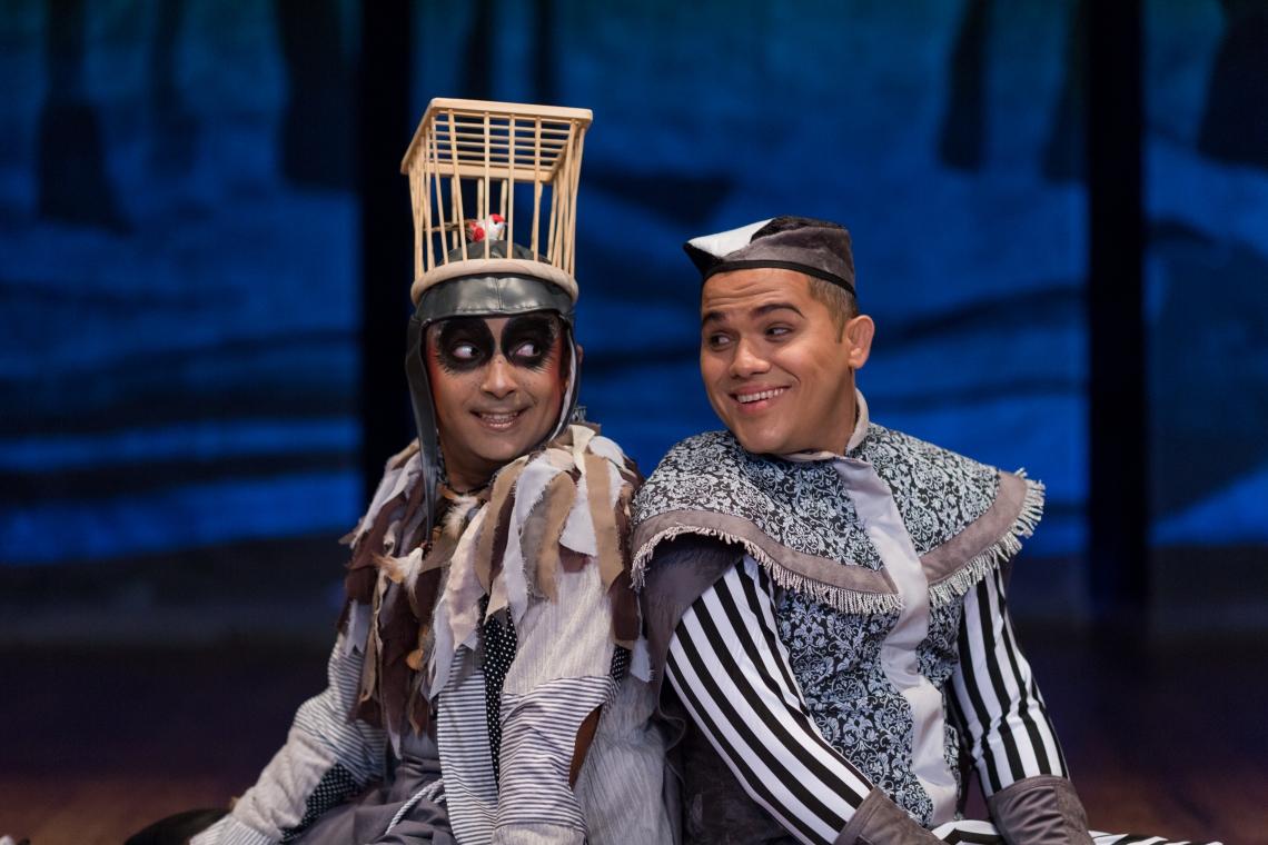 O espetáculo está em temporada no Teatro Celina Queiroz