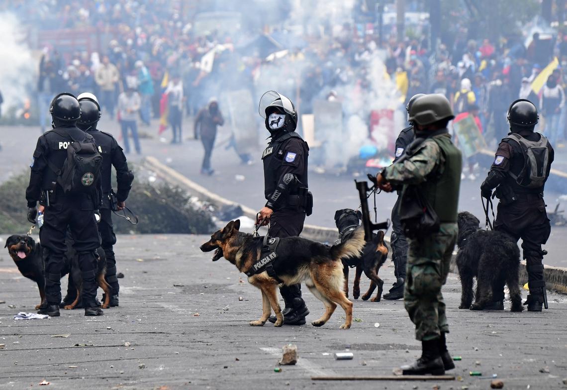 Protestos no Equador contra aumento de preços dos combustíveis
