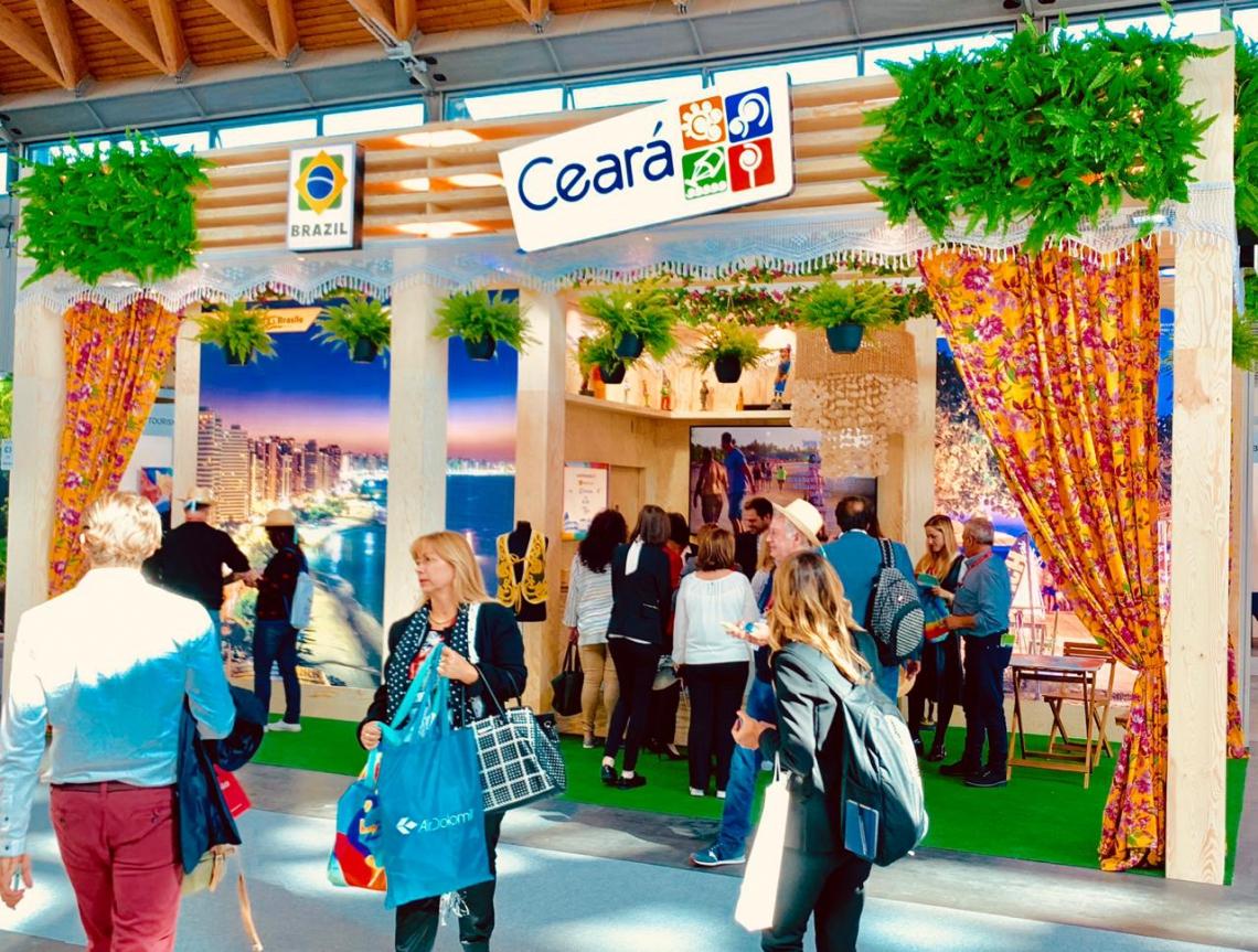 O Ceará utiliza a marca própria e a marca do Brasil no mercado internacional