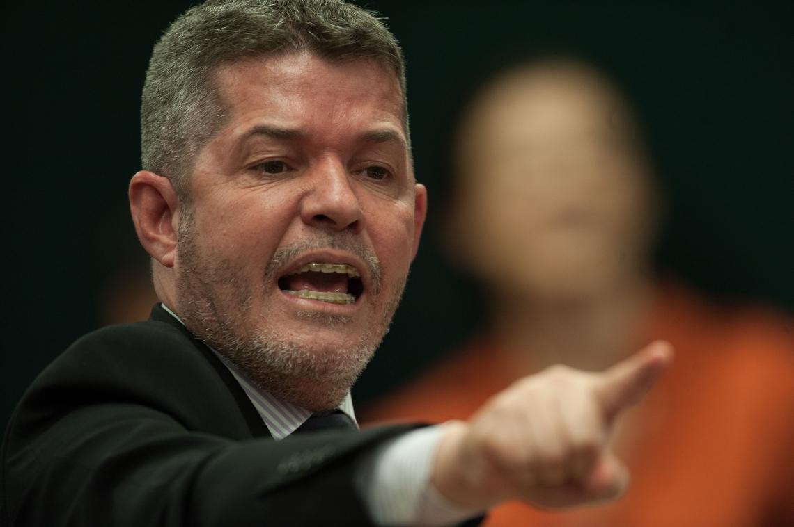 DEPUTADO Delegado Waldir disparou contra Jair Bolsonaro e escancarou ainda mais o conflito dentro do PSL