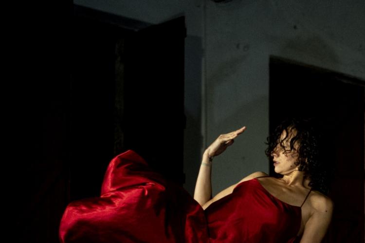 Espetáculo Ausência foi encenado na Bienal de Dança do Ceará (Foto: Luiz_Alves/ divulgação)