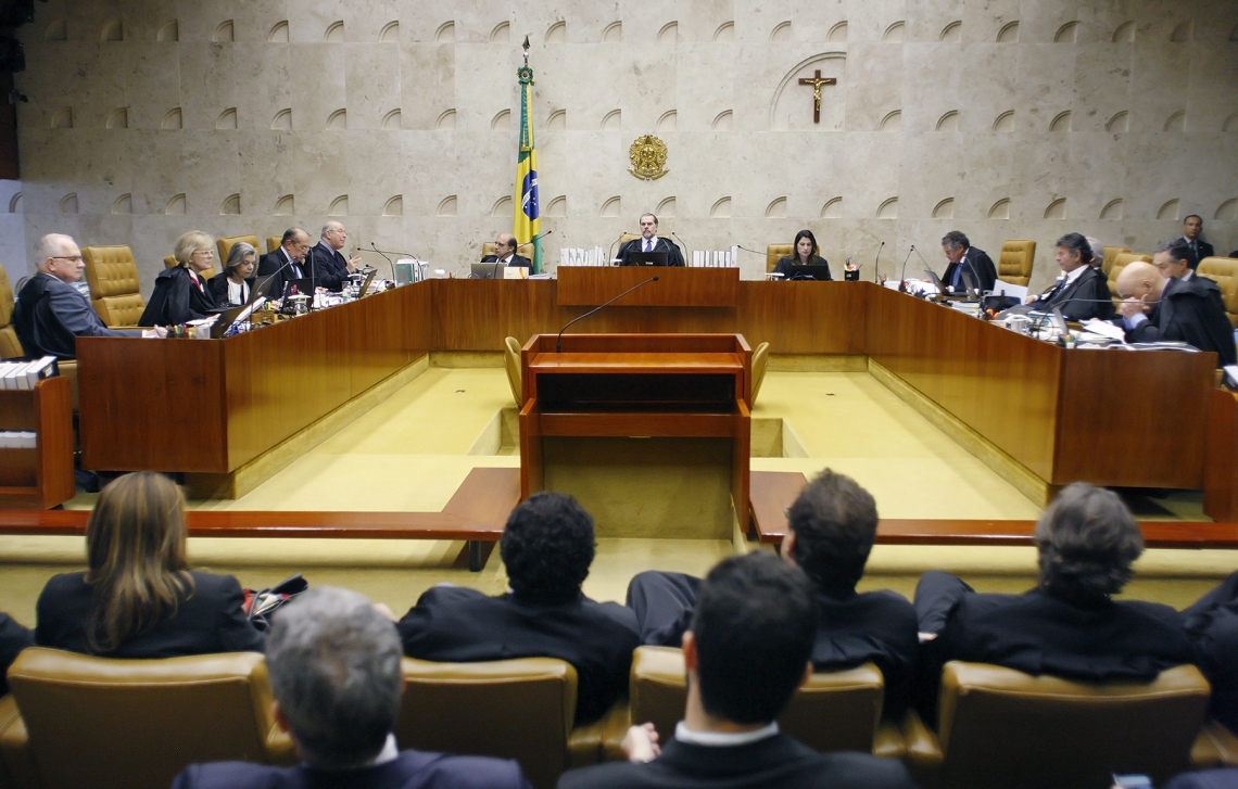 Sessão extraordinária em que julga as Ações Declaratórias de Constitucionalidade (ADC) 43, 44 e 54. Foto: Fellipe Sampaio /SCO/STF (07/11/2019)