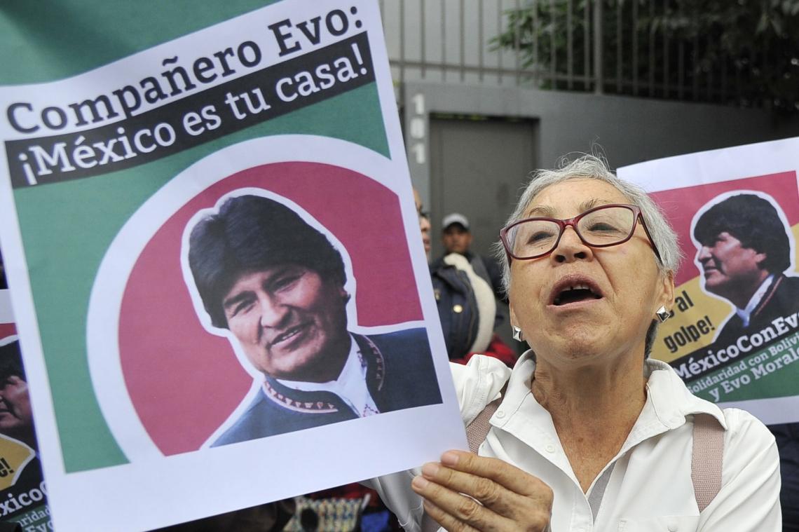 PROVÁVEL destino de Evo Morales é o asilo político no México (Foto: CLAUDIO CRUZ / AFP)