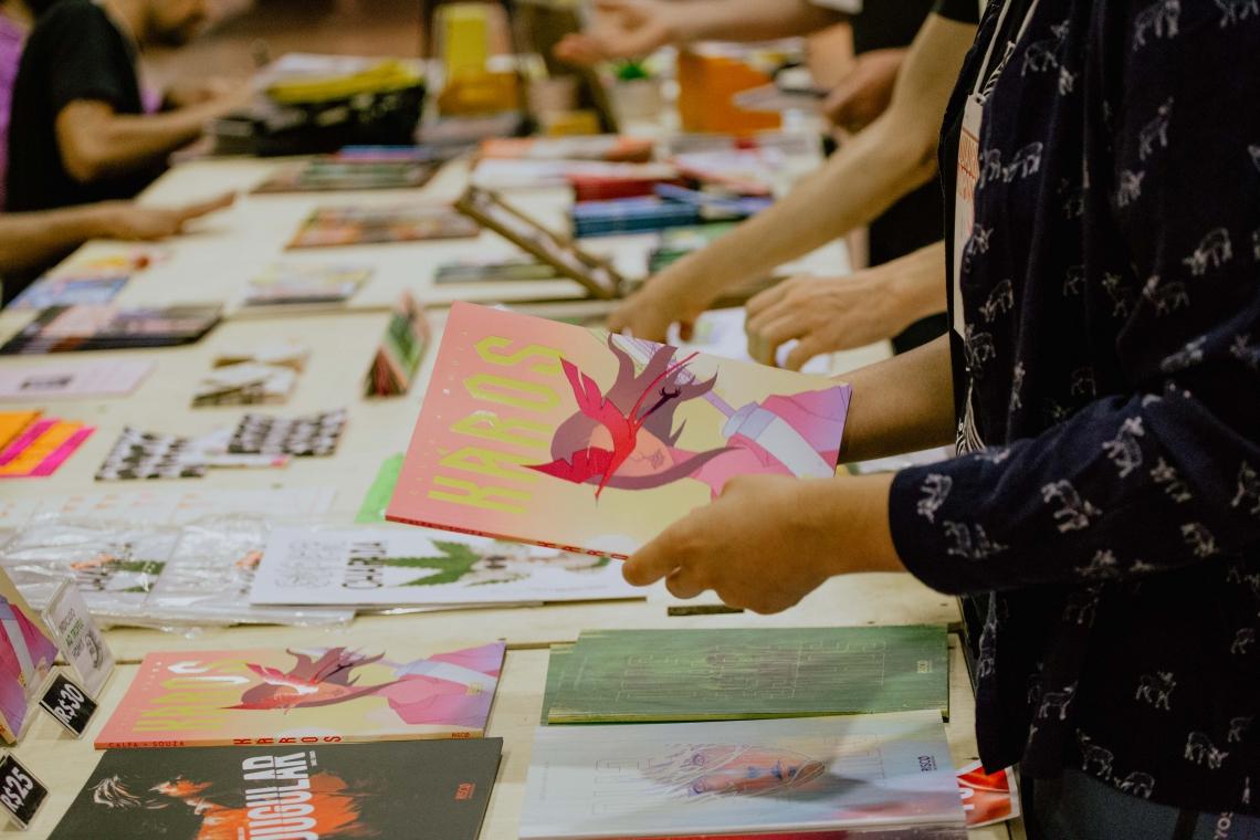 A feira de quadrinhos acontece entre 22 e 24 de novembro