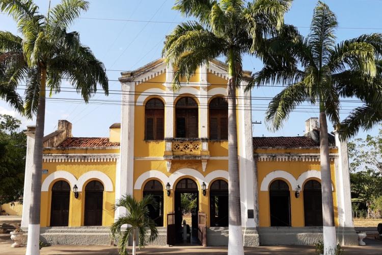 Fachada do Museu Estação Ferroviária de Baturité
