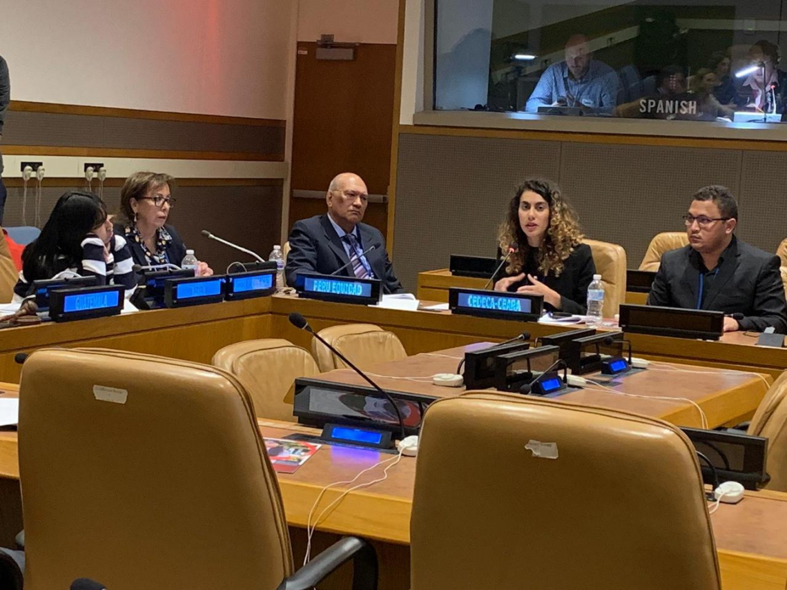 """Pesquisa """"Infância, gênero e orçamento público no Brasil"""" foi apresentada pelo Cedeca no Comitê de Direitos Humanos da Assembleia Geral da ONU."""