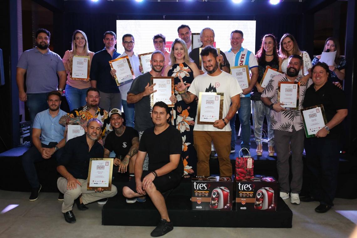 Vencedores das 15 categorias do prêmio Melhores Sabores da Cidade