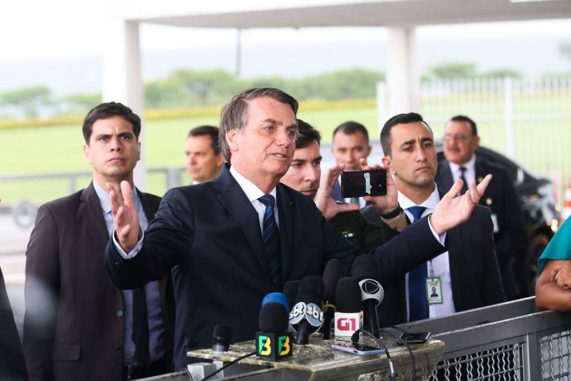 Bolsonaro compra briga, cria adversários, mas fortalece laço com aliados (Foto: Antonio Cruz/ Agência Brasil)