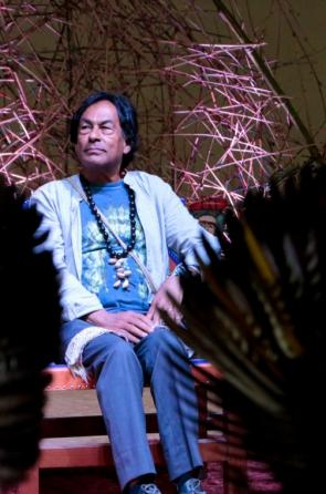 Líder indígena, ambientalista e escritor Ailton Krenak, autor de