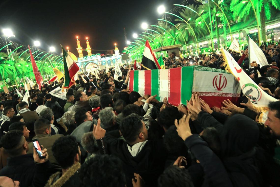 """Resultado de imagem para Enterro do General qassem Souleimani"""""""