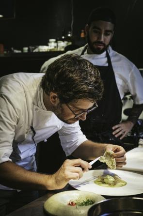 Chef belga Hervé Witmeur