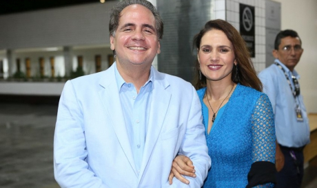Ricardo Macelar e Manuela