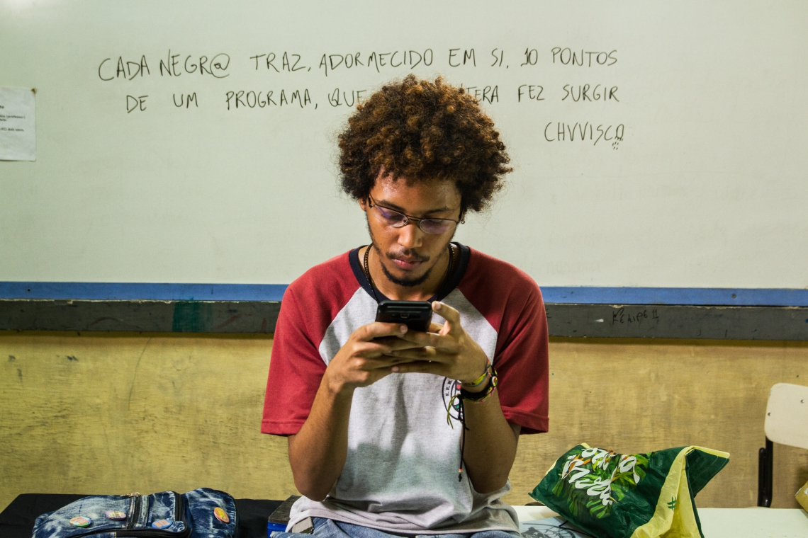 Saulo Chuvisco (Lucas Limeira) protagoniza o longa cearense Cabeça de Nêgo (Foto: M.Hirano / divulgação)