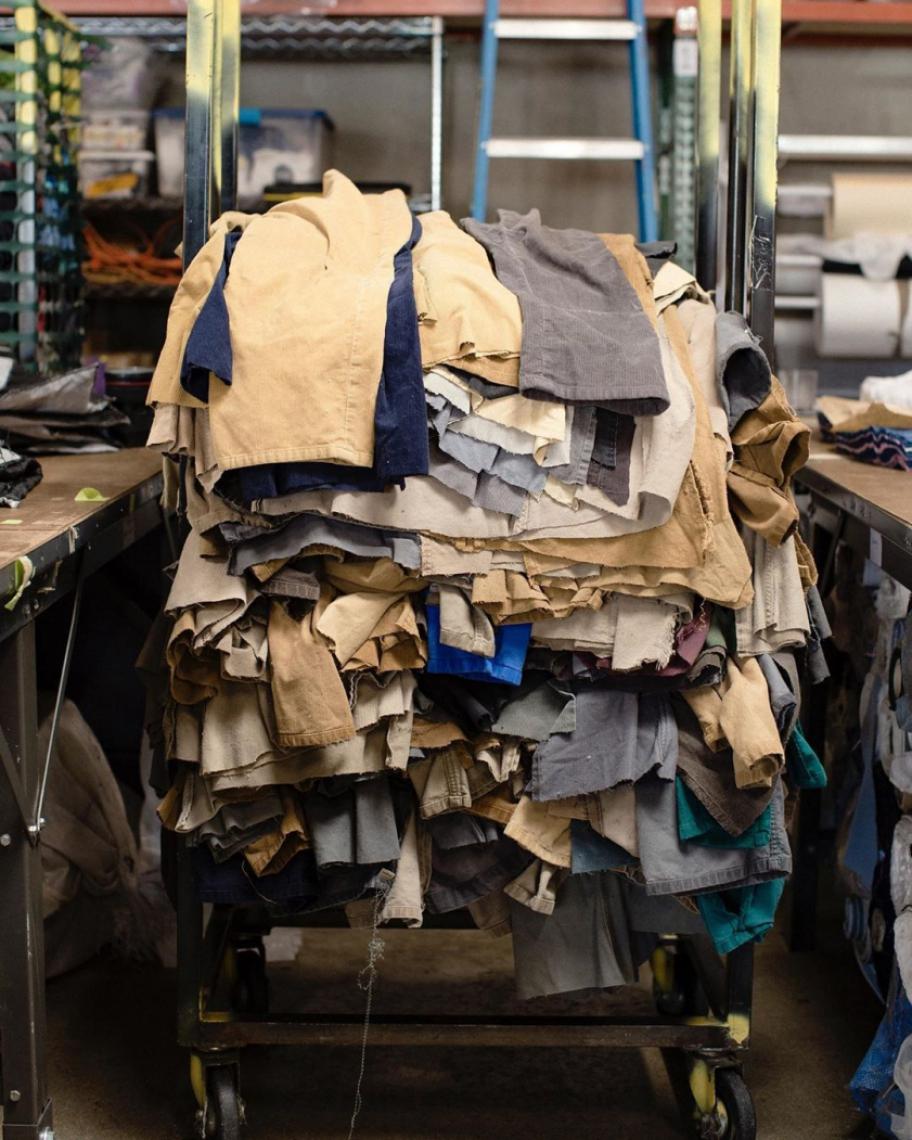 Em novembro de 2019, Patagônia produziu 10 mil peças ENTITY_sharp_ENTITYupcycled, movimento que recria e reutiliza peças de forma sustentável