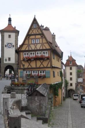 Rothenburg ob der Tauber é a cidade mais famosa da Rota Romântica alemã (Foto: Natália Poletini/Divulgação)