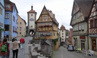 Rothenburg ob der Tauber é a cidade mais famosa da Rota Romântica alemã