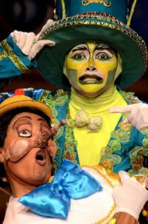 Pinóquio, da CIa Camarim de Teatro