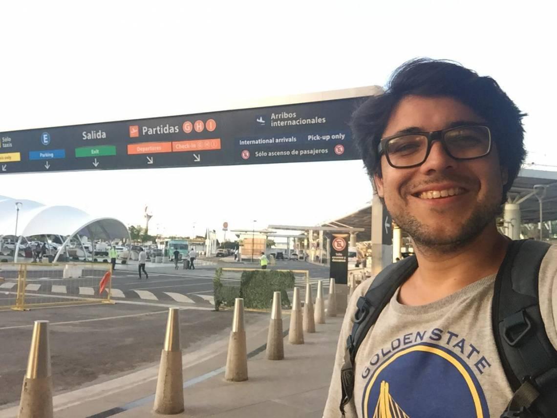 O repórter Lucas Mota está em Buenos Aires