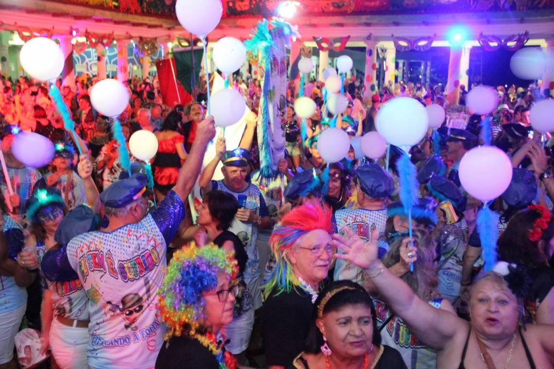 Carnaval da Saudade no Náutico Atlético Cearense
