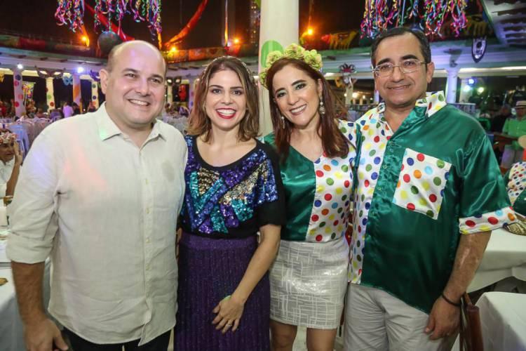 Roberto Claudio, Carol Bezerra, Fátima Gonçalves e Jardson Cruz