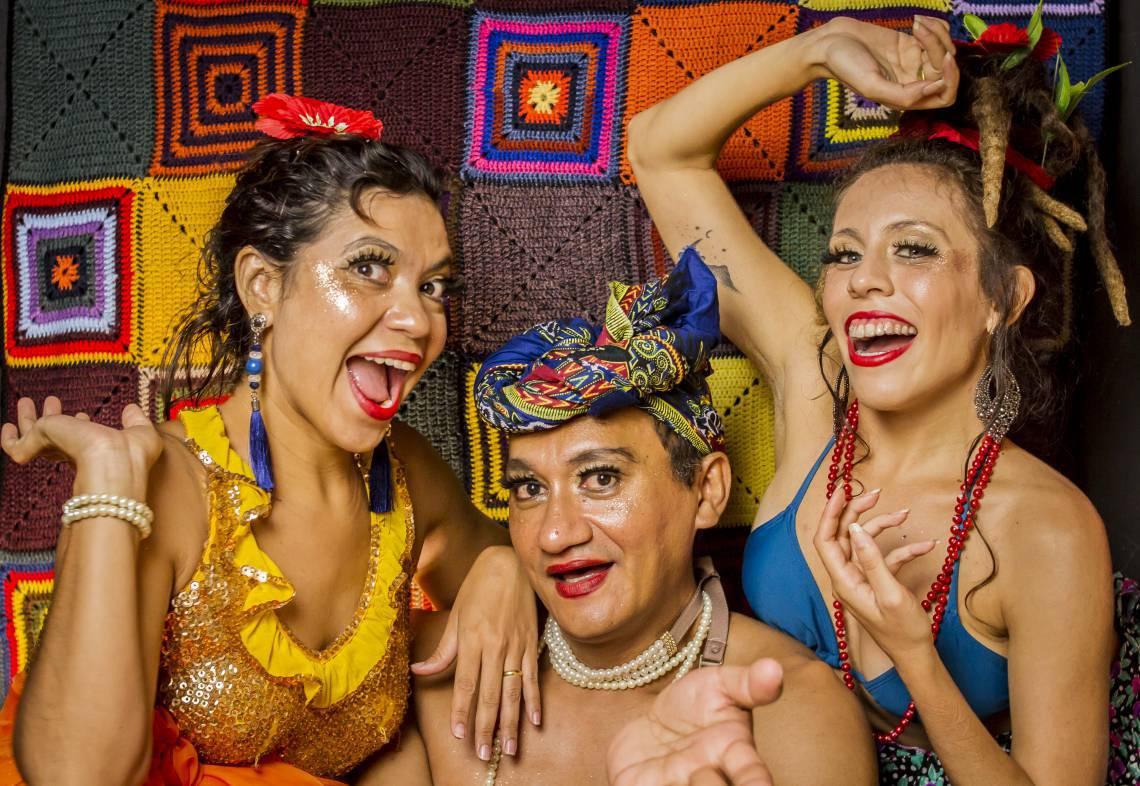 As Carmens são as convidadas do Bailinho do Portela, no Dragão do Mar