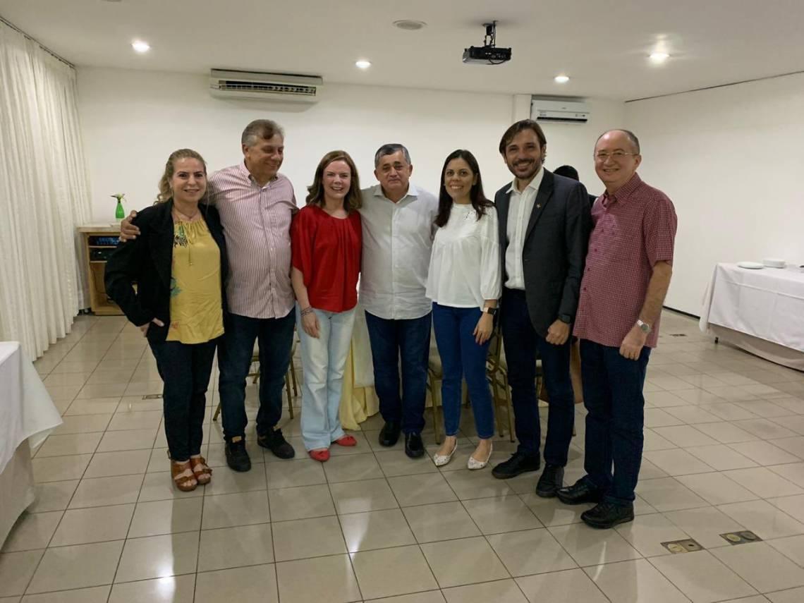 EM VISITA ao Ceará, Gleisi voltou a garantir que PT terá candidatura própria