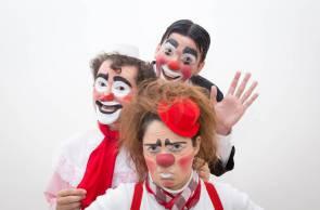 Circo k'aos apresenta clássicos da palhaçaria no theatro Via Sul