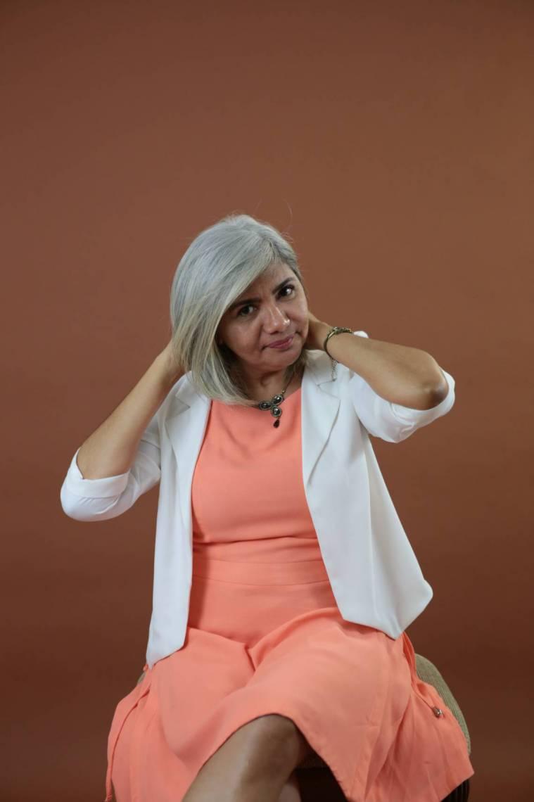 Jornalista Regina Ribeiro(Foto: Iana Soares 3/3/2016)