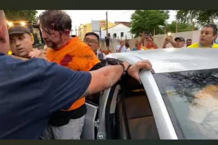 Cid Gomes foi alvo de um disparo durante manifestação em Sobral