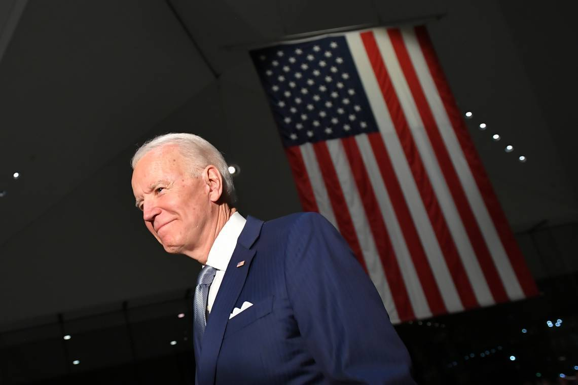 Biden tem adotado posicionamentos mais discretos em meio à pandemia, em contraste com o adversário Donald Trump